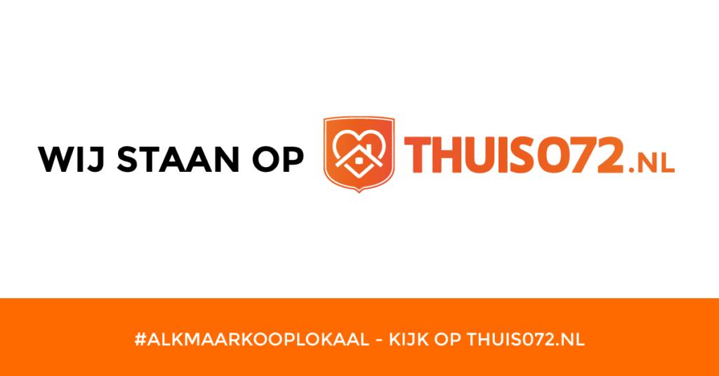 Wij staan op THUIS072.nl